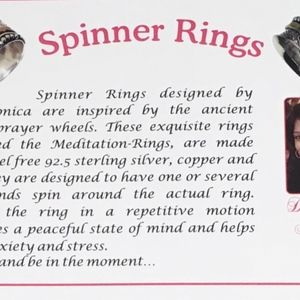 Spinner Rings by Monica Boutique